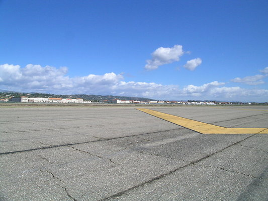 Camarillo unused Runway
