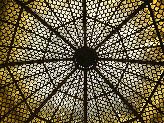 Doheny Mansion dome